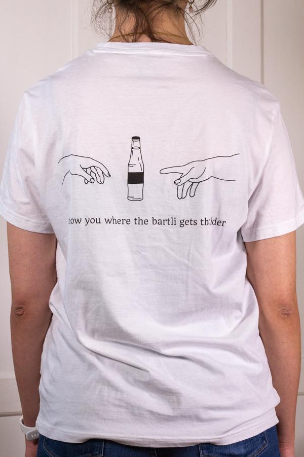 Produktbild T-Shirt i show you where the bartli gets the cider
