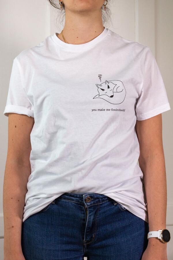 Produktbild T-Shirt you make me foxdevilswild