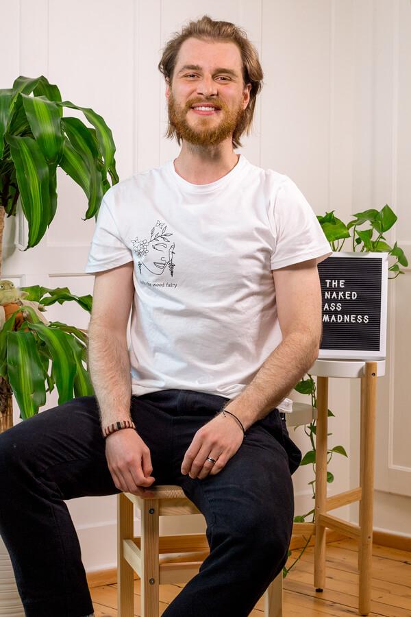 Produktbild T-Shirt holla the wood fairy